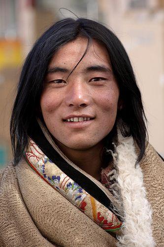 Tibetan man.