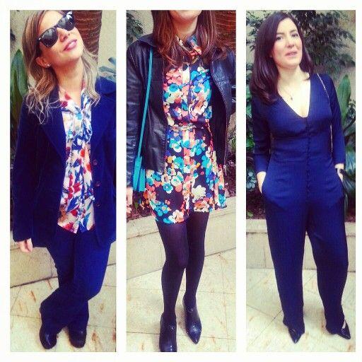 Cool hunter ( wedding ) #blue #catsuit #vintage #laspepas #zara