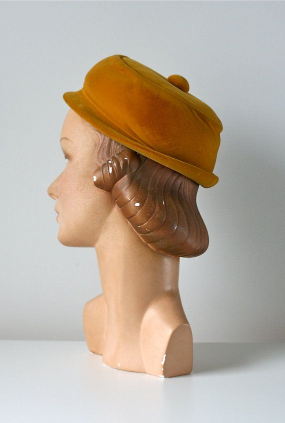 vintage 1950s hat / Hubert de Givenchy hat by Dronning on Etsy