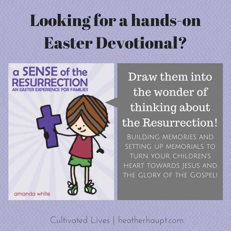 27 best a sense of the resurrection images on pinterest easter sensory rich children learn through engaging their senses this book masterfully engages each fandeluxe Images