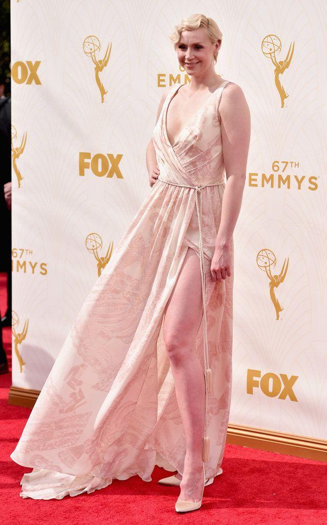 Gwendoline Christie on the Emmys Red Carpet |