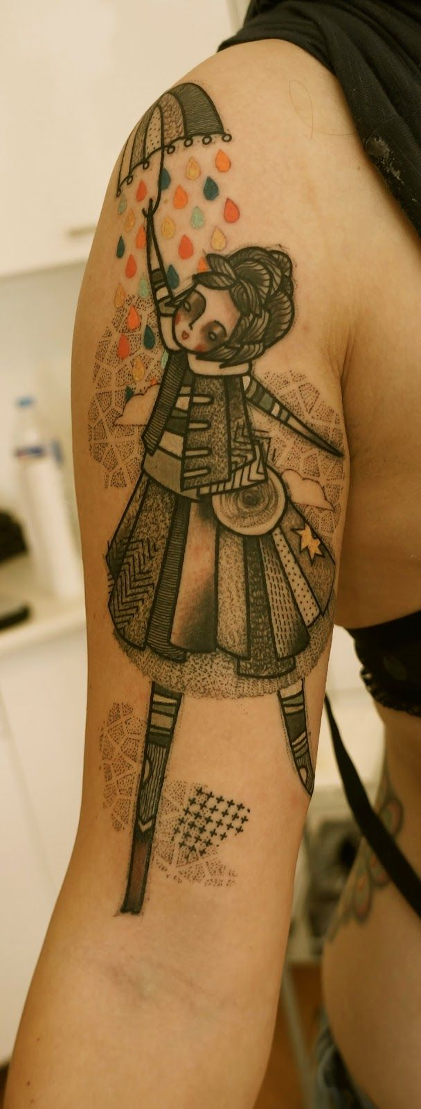 ART BY NOON: TATTOO OF THE DAY....