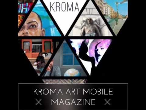 Download KROMA art mobile magazine at your smartphone for free, and enter a world of Art and Creativity.  www.kromamagazine.com #kromamagazine #pikatablet