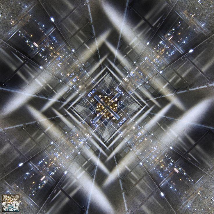 Mart Barras - Light Painting - Falling -  20/02/2014