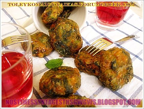 SPANAKOKEFTEDES VEGETARIAN AND NOT ONLY ... | Tasty Recipes Gogo