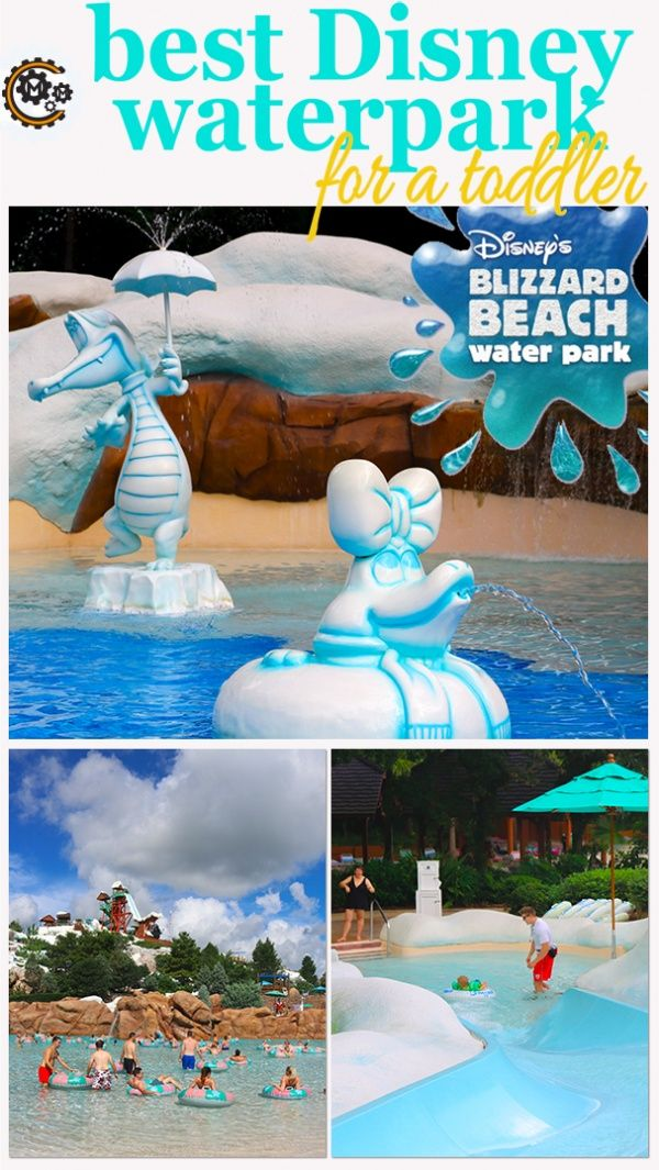 A look at the best Disney Waterpark for a Toddler - Disney's Blizzard Beach