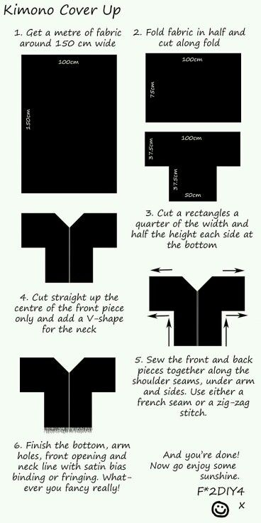 DIY Kimono More