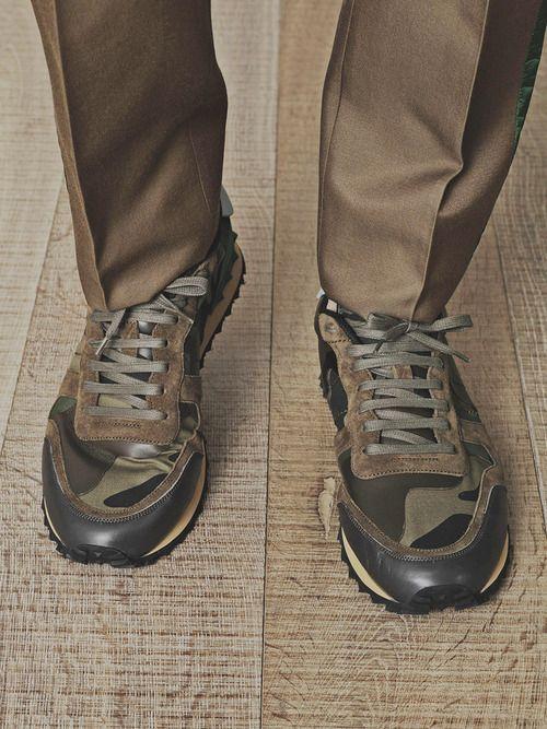 Valentino Camo Sneakers