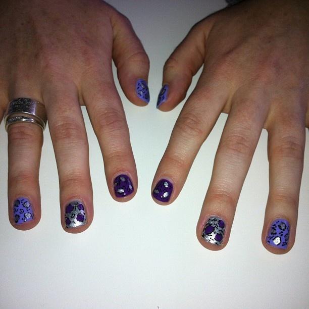 #LeopardPrint #Nails #NailArt