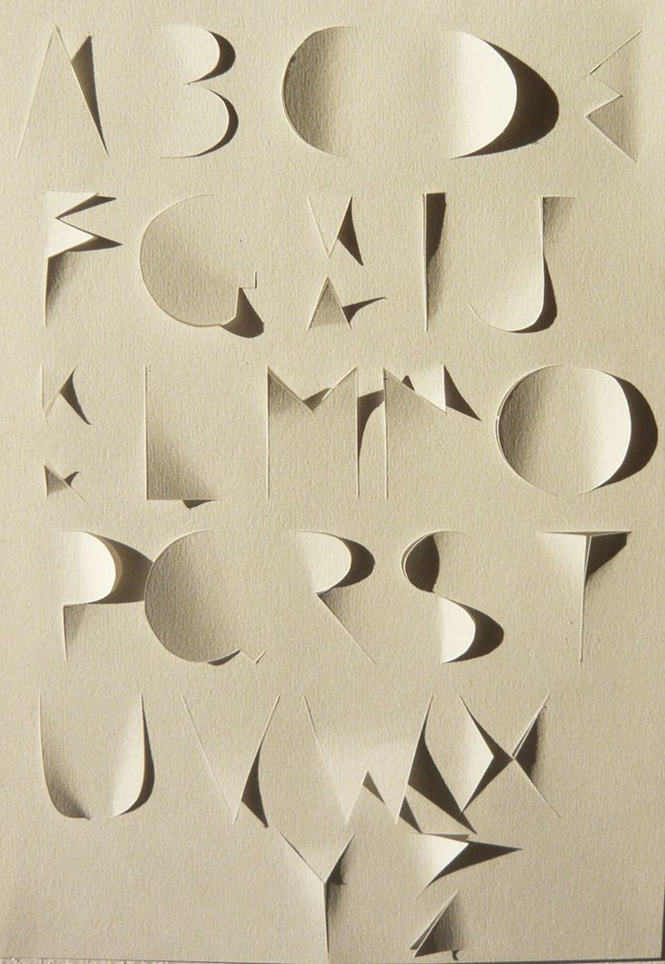 Alphabet coupé by Hélène Ducrocq: Alphabet Typography, Alphabet Cut, Typography Alphabet Design, Typography Fonts, Illustrations Graphics, Alphabet Coupé, Paper Design, Cut Paper, Typography Design Alphabet