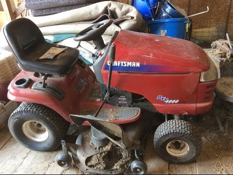 The 7 best mower belt images on pinterest craftsman riding lawn craftsman dyt 4000 mower deck 48 cut youtube fandeluxe Image collections