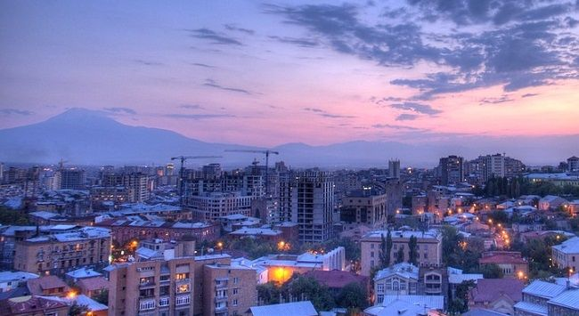 Erevan, la capitale de l'Arménie