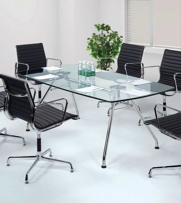Create a modern meeting area with designer glass tables.  Designer furniture ideas. Wholesale inquires @howimports