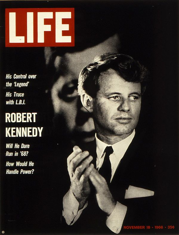 LIFE magazine cover, November 18, 1966. Photograph by Bill Eppridge.