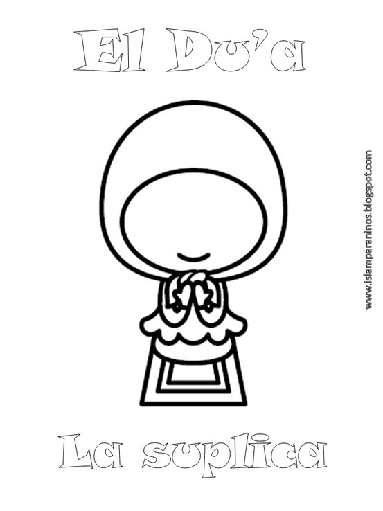muslim holidays coloring pages - photo#27