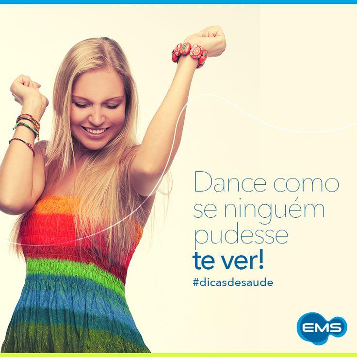Dance no seu ritmo e se solte! O exercício te ajuda na prevenção de problemas cardíacos e respiratórios. #dicadesaúde