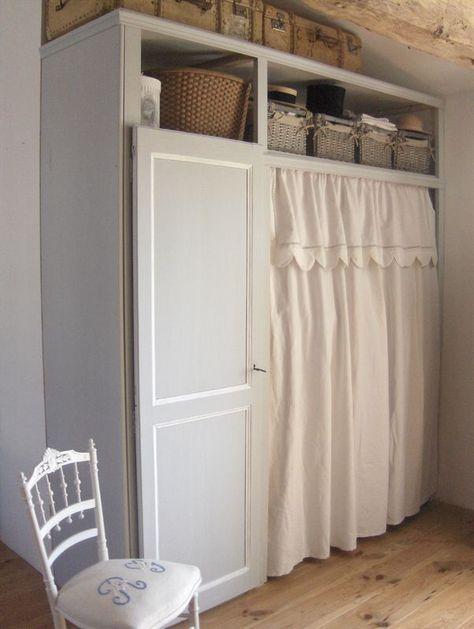 penderie de choc chic broc chambre parentale. Black Bedroom Furniture Sets. Home Design Ideas