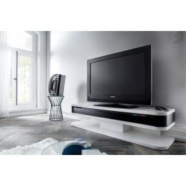 Tv-benk MORGAN SOUND med innebygde høyttalere