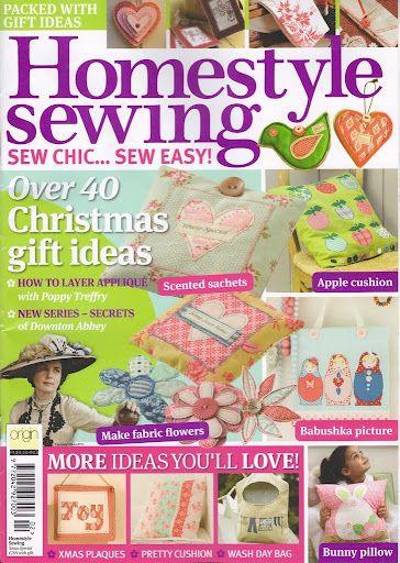Homestyle sewing - compartilha tudo - Álbumes web de Picasa
