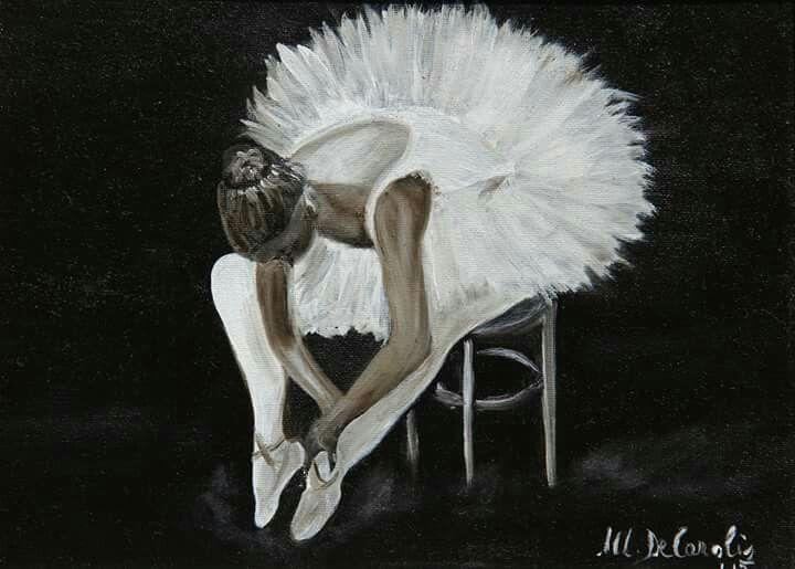 """""""La Ballerina"""" - olio su tela 18x24 anno 2015"""