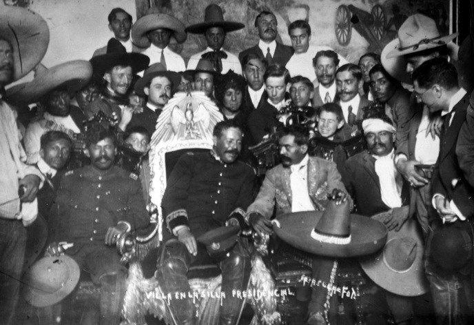 """Zapata y Pancho Villa """"Convención de Aguascalientes"""" reunión que tuvo lugar durante el proceso de la Revolución mexicana, convocada el 1º de octubre de 1914"""