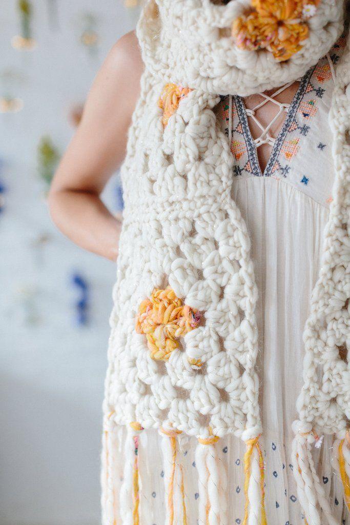Mejores 468 imágenes de bufandas en Pinterest | Bufandas de punto ...