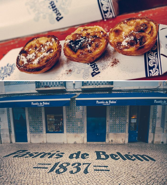 Pastéis de Belém - around 70.000 of these are sold daily http://www.teoinpixeland.ro/travel/lisbon-places-that-stole-my-heart