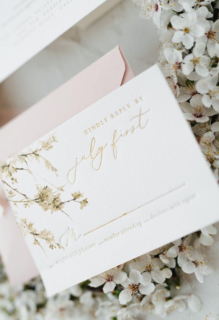 Wedding Collection Little Fox Paperie Custom Wedding Stationery Wedding Invitations Romantic Wedding Invitation Design Personalised Wedding Invitations