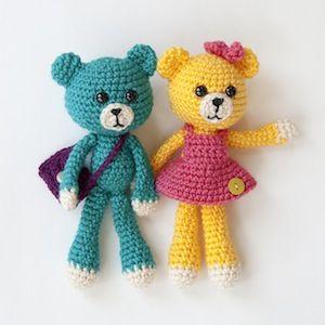 174 best bear crochet patterns images on pinterest crochet amigurumi pals bears 500 as part of an ebook by karla fitch fandeluxe Ebook collections