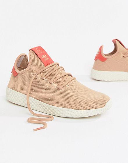 dbd76ed3d9975 adidas Originals – Pharrell Williams Tennis Hu – Rosa Tennisschuhe ...
