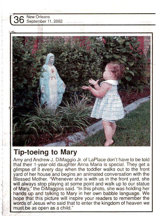 Front Yard Shrines Great Catholic website http://www.catholichomeandgarden.com/index.html