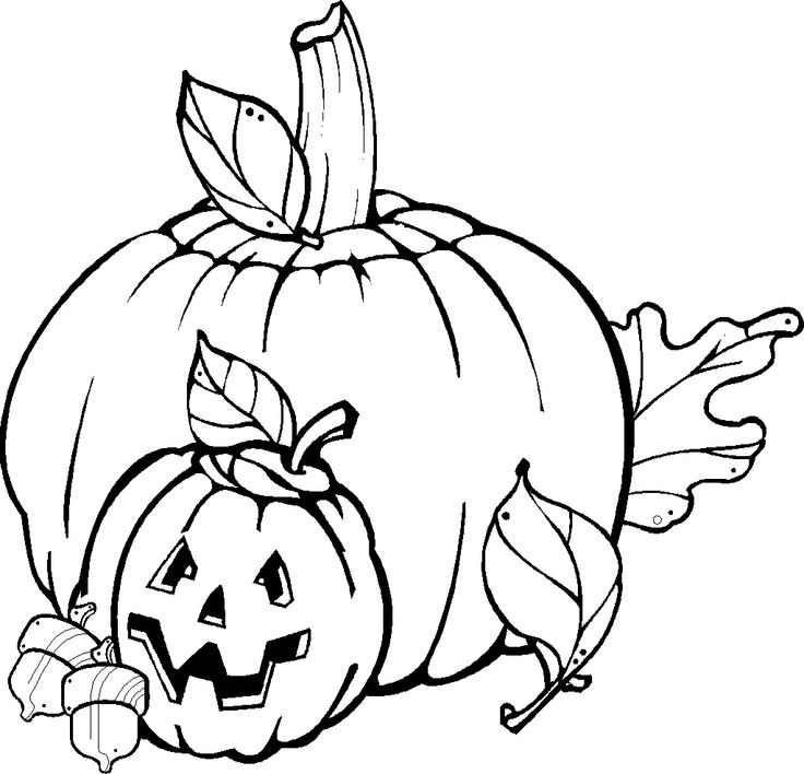 54 best halloween printable's for kids images on pinterest ... - Autumn Coloring Pages Toddlers