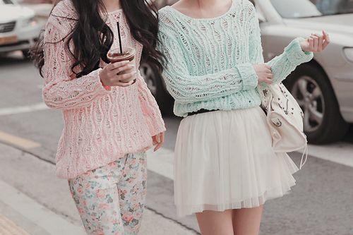pastels. ♡