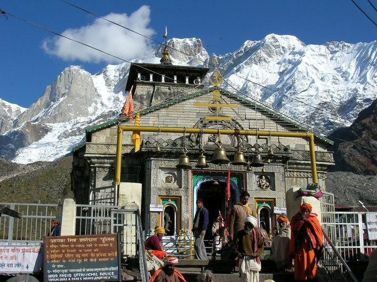Kedarnath Mandir is one of the holiest Hindu temples dedicated to Lord Shiv and is located at the top of the Garhwal Himalayan range near the Mandakini river in Kedarnath, Uttarakhand in India. Due to extreme weather conditions, the temple is open only between the end of April to start of November. Here Lord Shiv is worshipped as Kedarnath, the 'Lord of Kedar Khand', the historical name of the region.