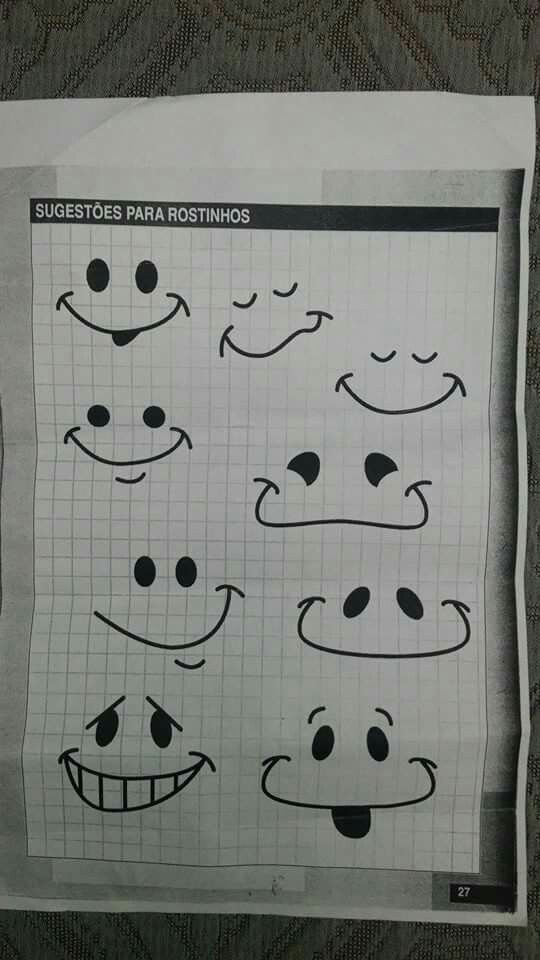 Sugestão para rostinhos