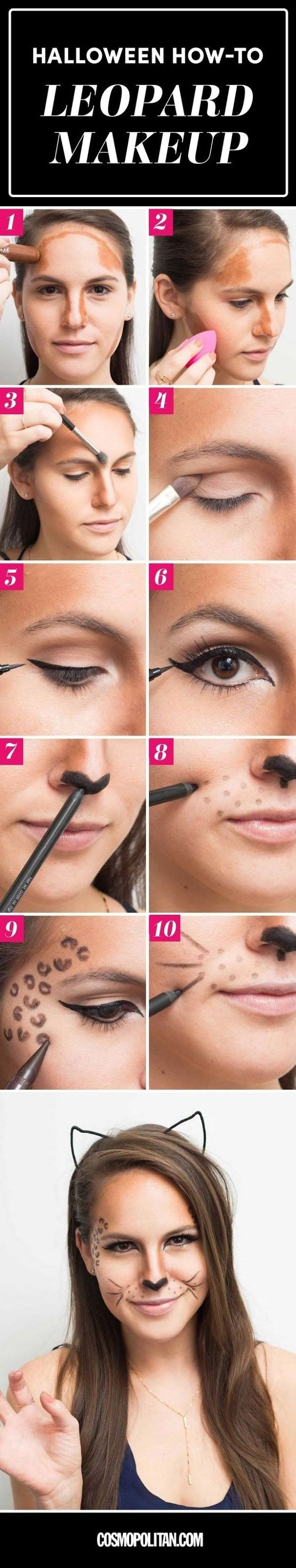 Easy Halloween Makeup Tutorials - Halloween Makeup Ideas With Products You Already Have