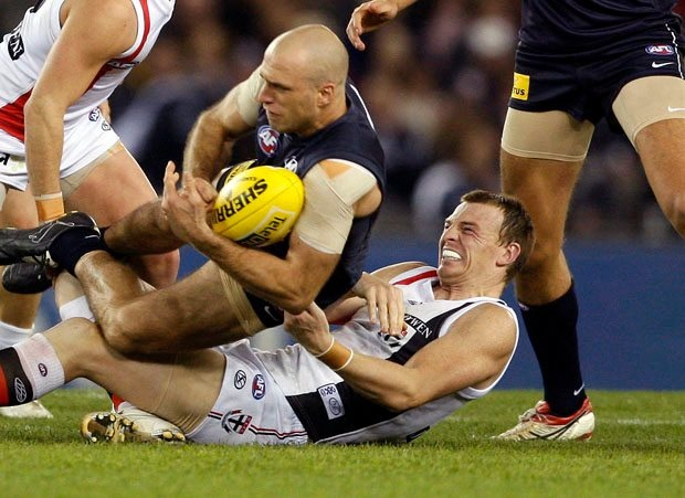 Aussie Rules...definitely not a game for the faint of heart...