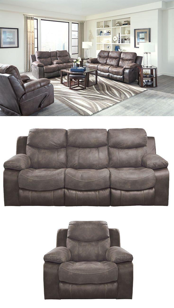 Reclining Sofa Tufted Backs