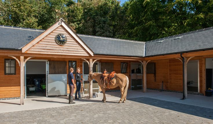 Timber stables designed individually for you and your horses
