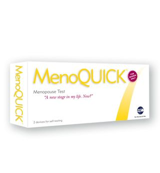 Hot flushes? Night sweats? The MenoQUICK Test will help to identify levels of follicle stimulating hormone in your body which is a sign that you could be in menopause. Contains 2 tests. Available from Hot Flush Stuff