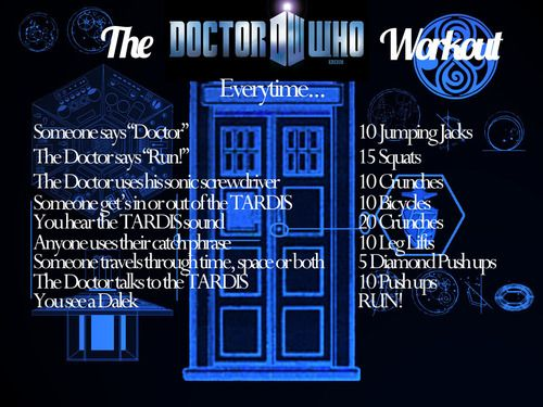 The Doctor Who workout