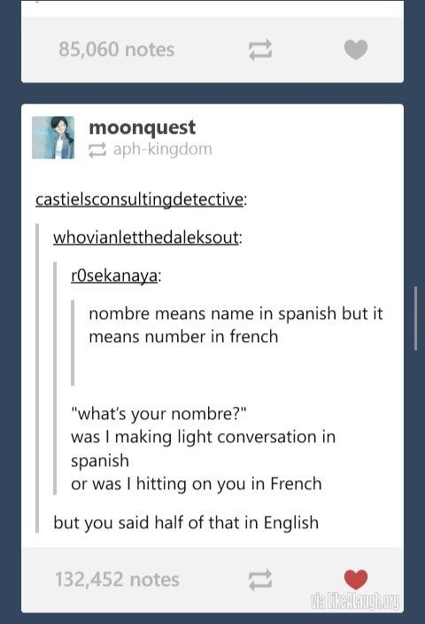 What's your nombre?