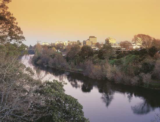 Waikato River: Hamilton