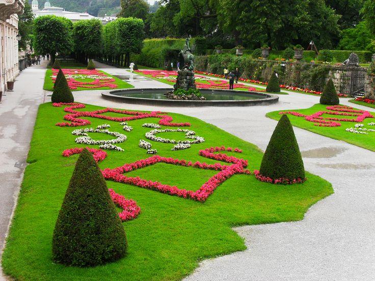 The beautiful Mirabell Gardens: the origin of The Sound of Music www.roamtheworld.net