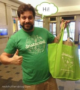 My review of Boston's newest grocery delivery service, Instacart