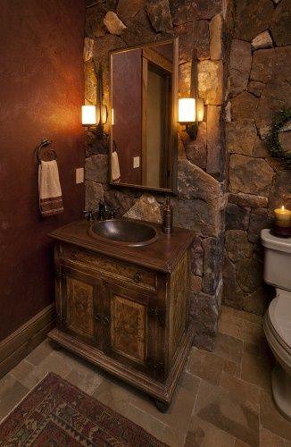 half bathroom ideas - Google Search