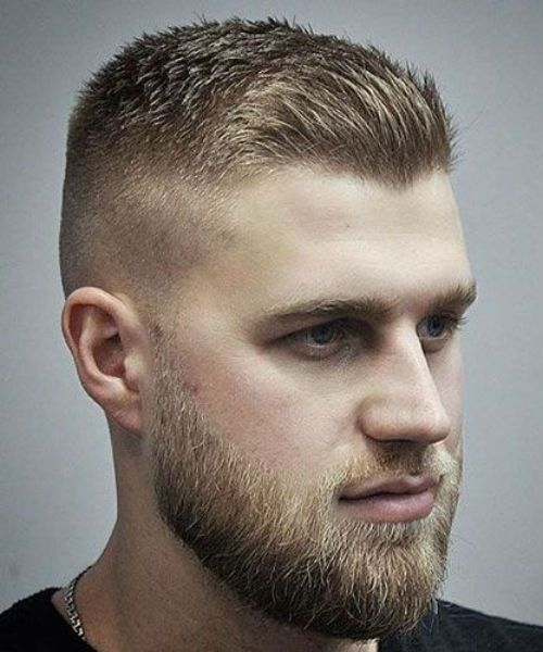 14 Of The Perfect Fade With Spiked Front Haircuts 2019 For Men With
