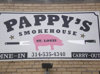 Saw this place on Man vs. Food ... stopped in & ate there on our way through St Louis ... great BBQ!
