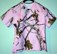 Realtree AP Pink Camo Scrubs! I have regular Camo scrub top but not pink!!