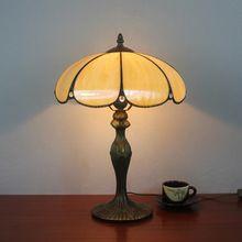 Тиффани стекла освещение мода Европейский стиль работы настольная лампа главная спальня СВЕТОДИОДНЫЕ настольные лампы